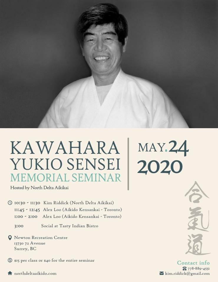 Kawahara Sensei Memorial Seminar 2020